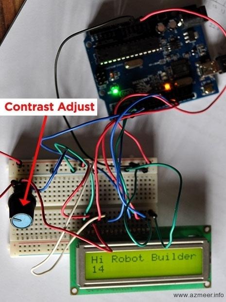 LCD prototype